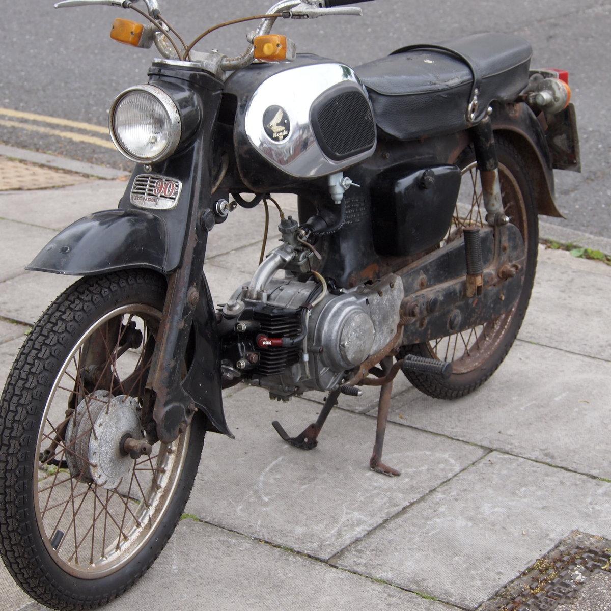 1967 Honda C200 Original Running UK Bike, RESERVED FOR ALAN. SOLD (picture 2 of 6)