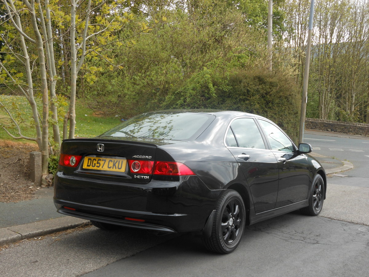 2007 Honda Accord 2.2 CDT-i SE HFT Saloon 6SPD Facelift SOLD (picture 2 of 6)