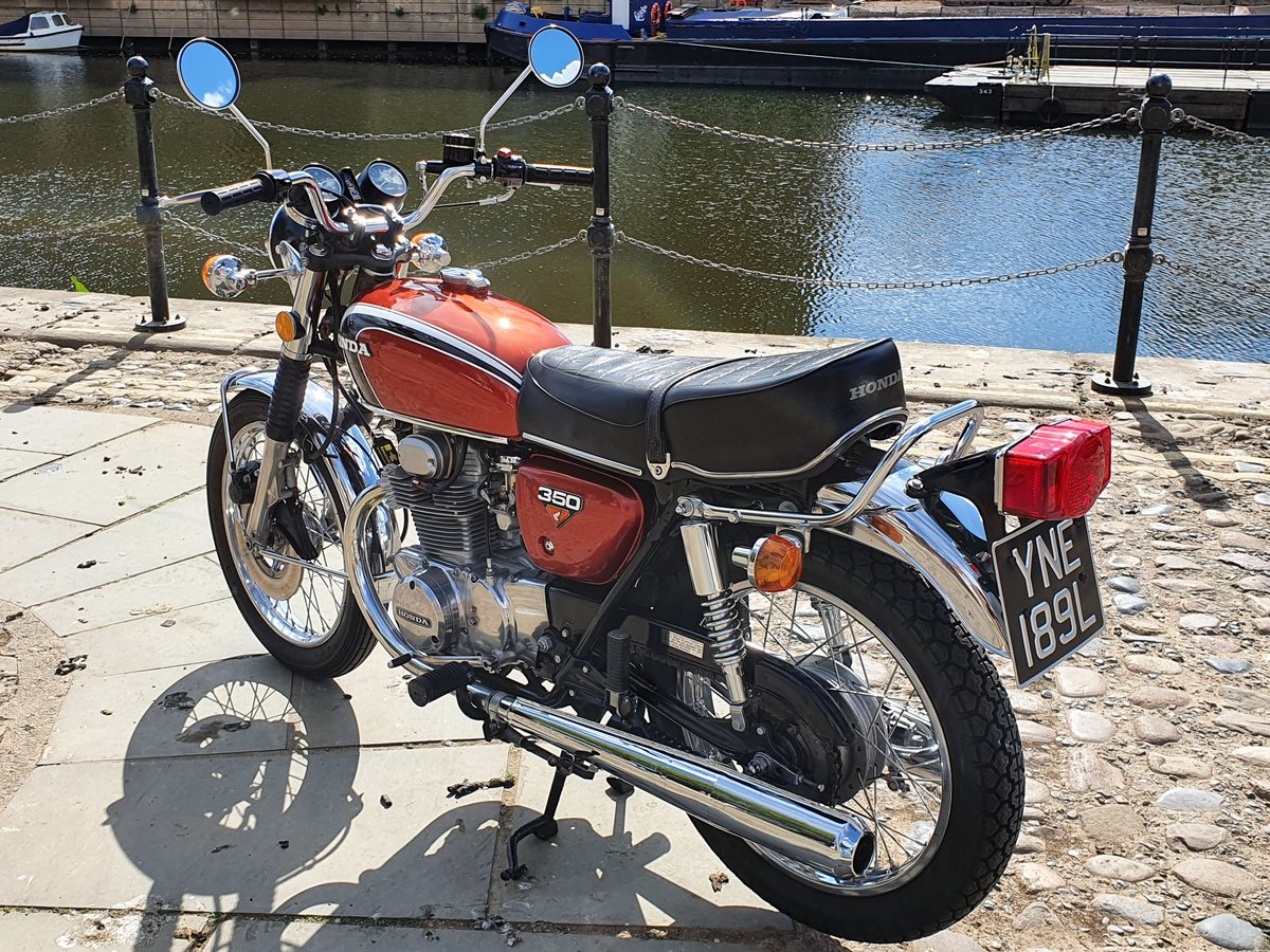 1972 Gorgeous looking cb350  nationwide delivery For Sale (picture 5 of 6)