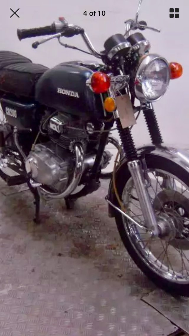 1974 Honda CB200T NOW  SOLD! PENDING PICK UP For Sale (picture 1 of 4)