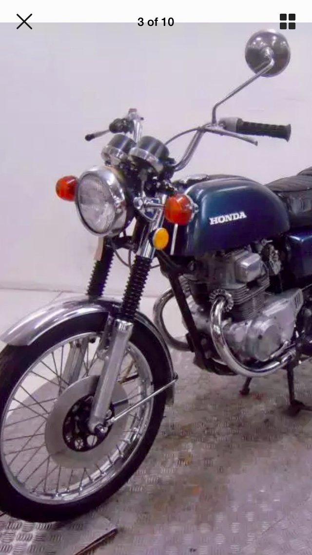 1974 Honda CB200T NOW  SOLD! PENDING PICK UP For Sale (picture 2 of 4)
