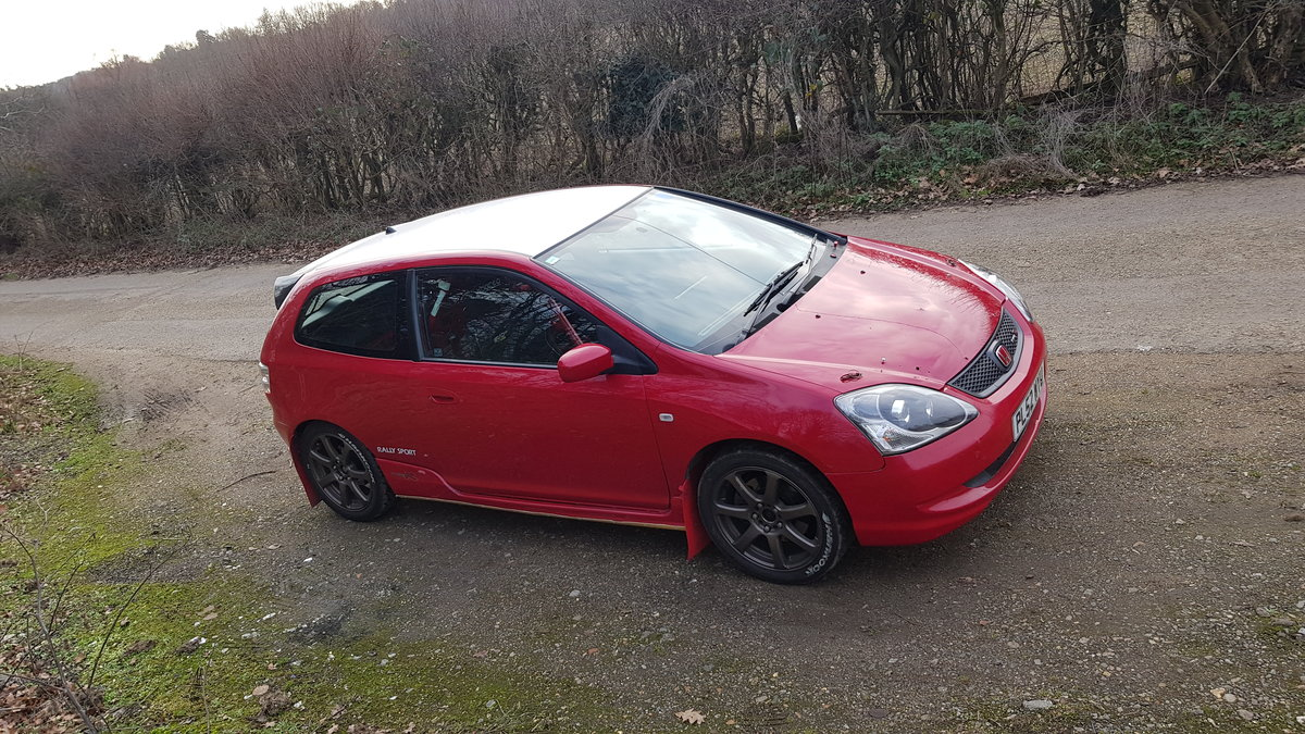 2003 FIA Group N Honda Civic Type R EP3 Rally Car  SOLD (picture 1 of 5)