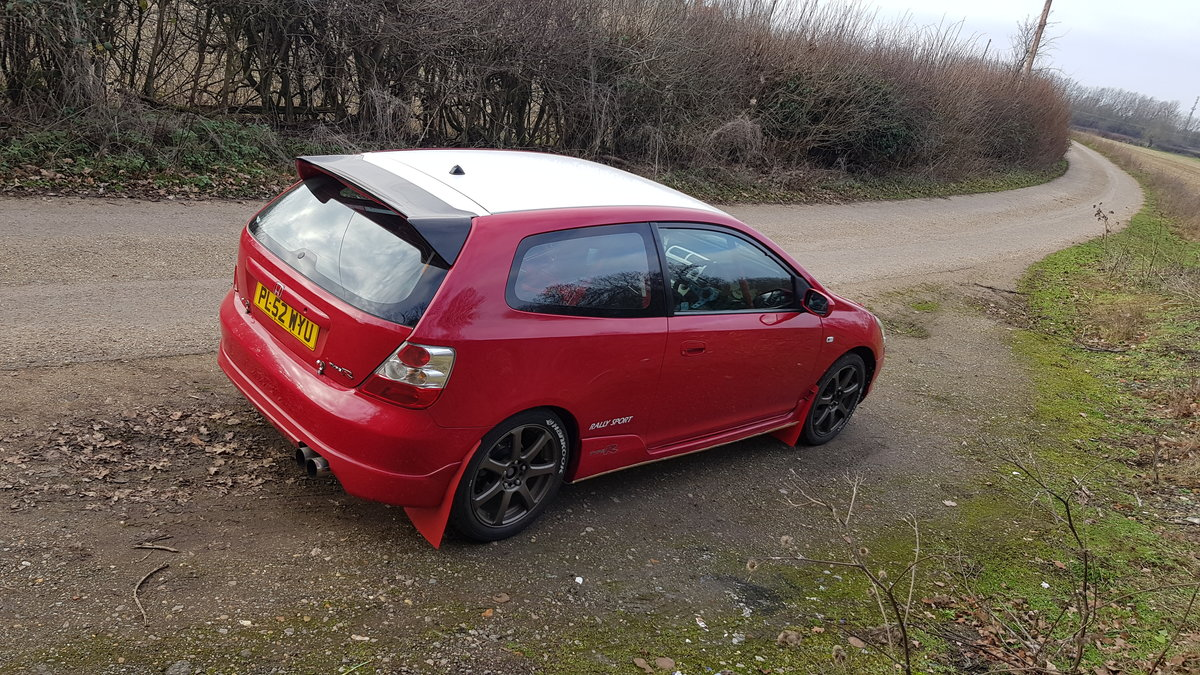 2003 FIA Group N Honda Civic Type R EP3 Rally Car  SOLD (picture 2 of 5)