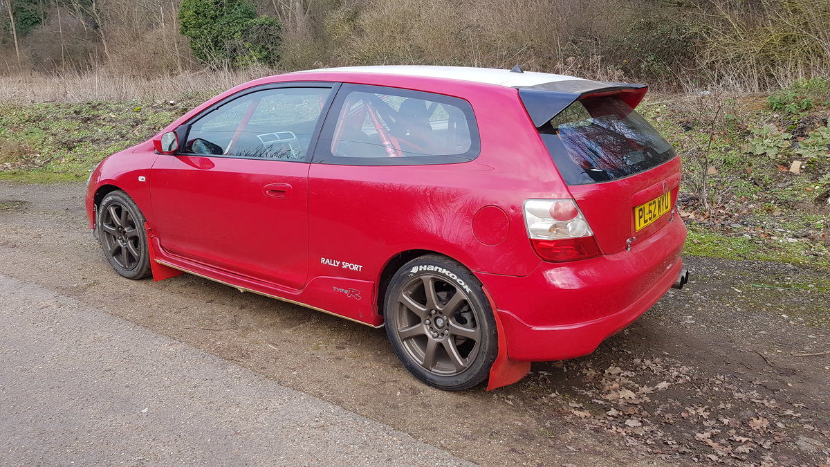 2003 FIA Group N Honda Civic Type R EP3 Rally Car  SOLD (picture 3 of 5)