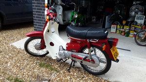 1999 Honda cub c90 ONLY 99 MILES
