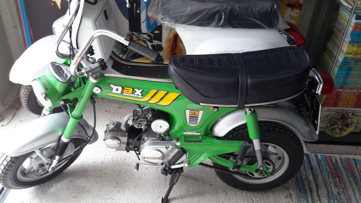 1979 Honda dax sort after green colour For Sale (picture 1 of 2)