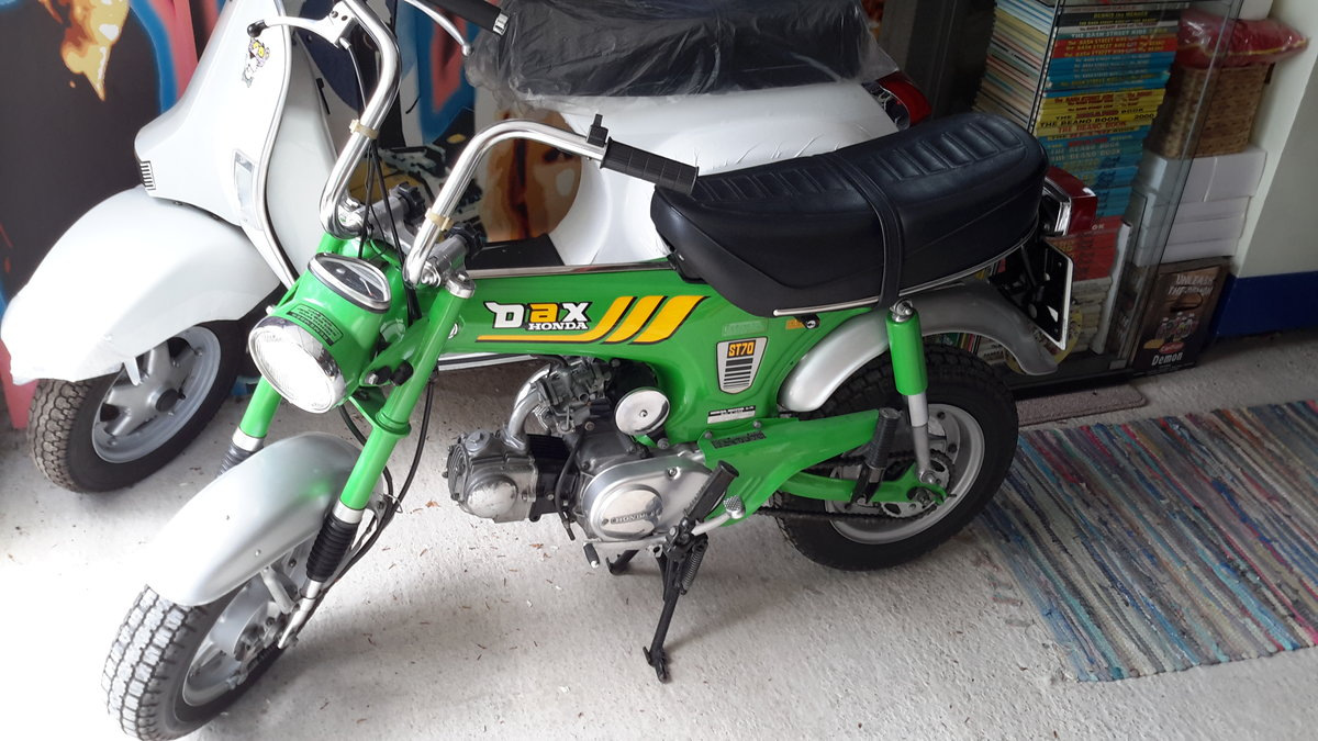 1979 Honda dax sort after green colour For Sale (picture 2 of 2)