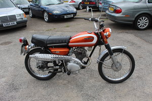 Picture of 1971 Honda CL100 Single Four Stroke Matching Numbers  SOLD