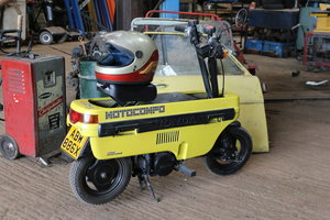 Picture of 1981 Honda Moto Compo folding motor bike suitcase Kie car City SOLD