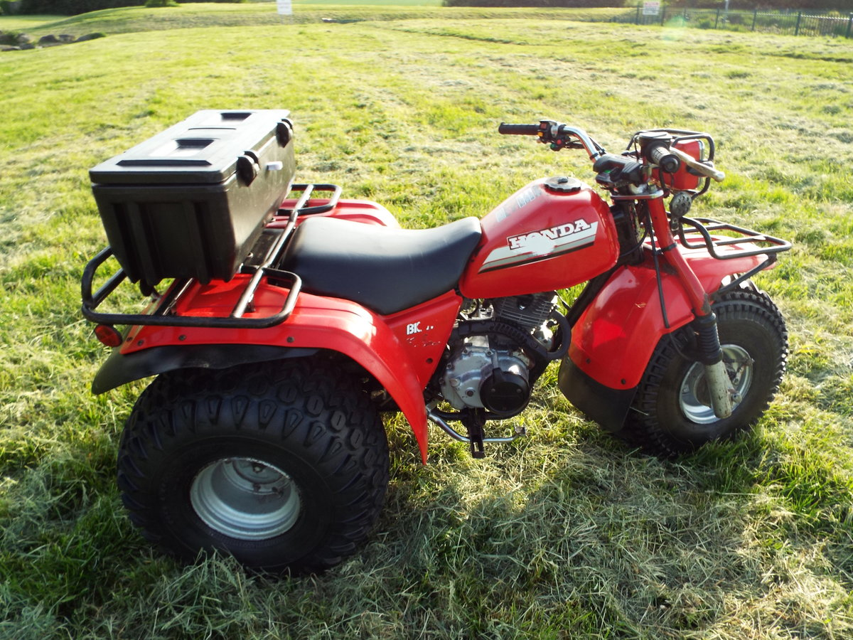1985 Honda big red atc 200es 1 previous owner v5 For Sale (picture 2 of 6)