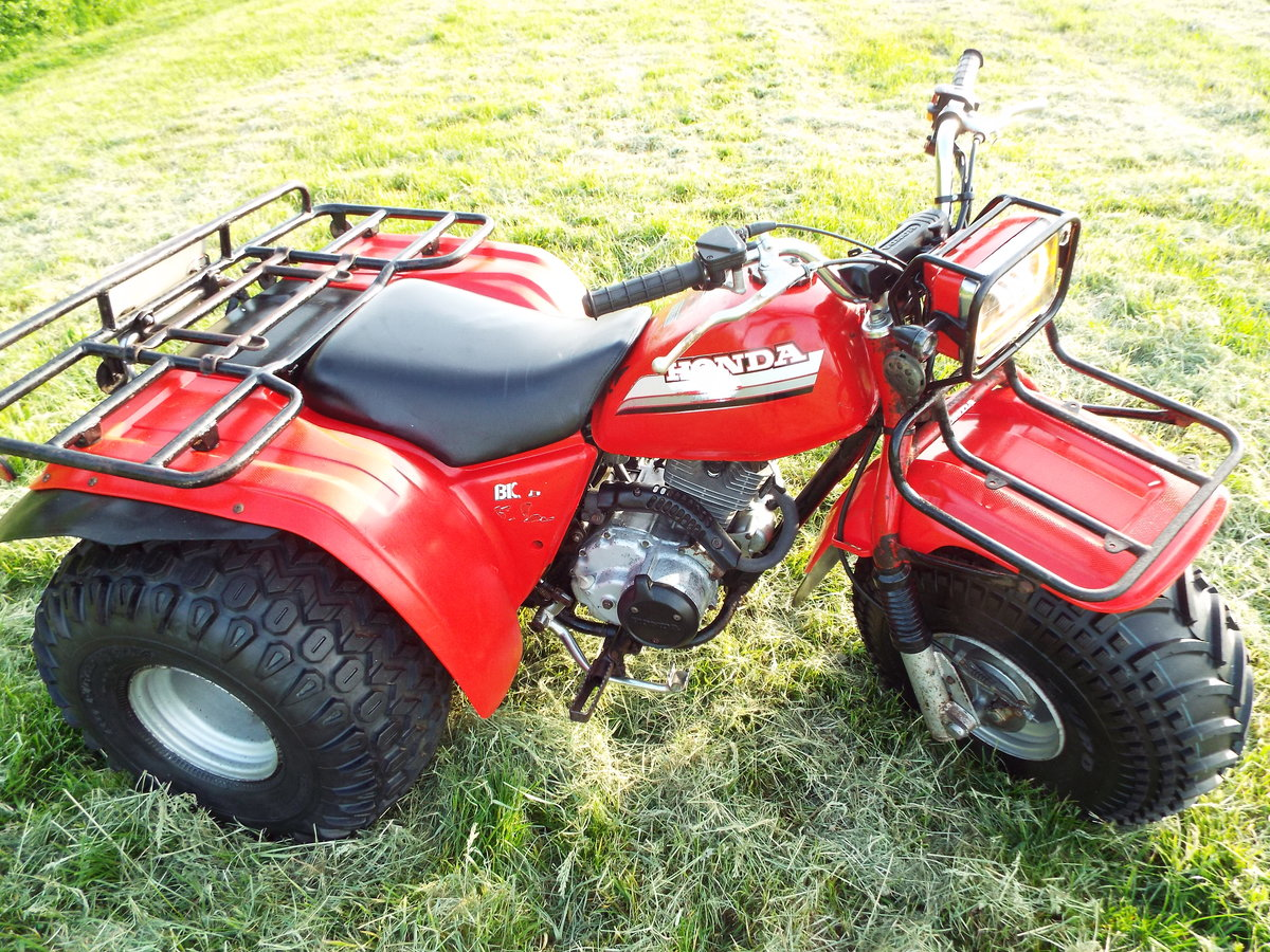 1985 Honda big red atc 200es 1 previous owner v5 For Sale (picture 3 of 6)