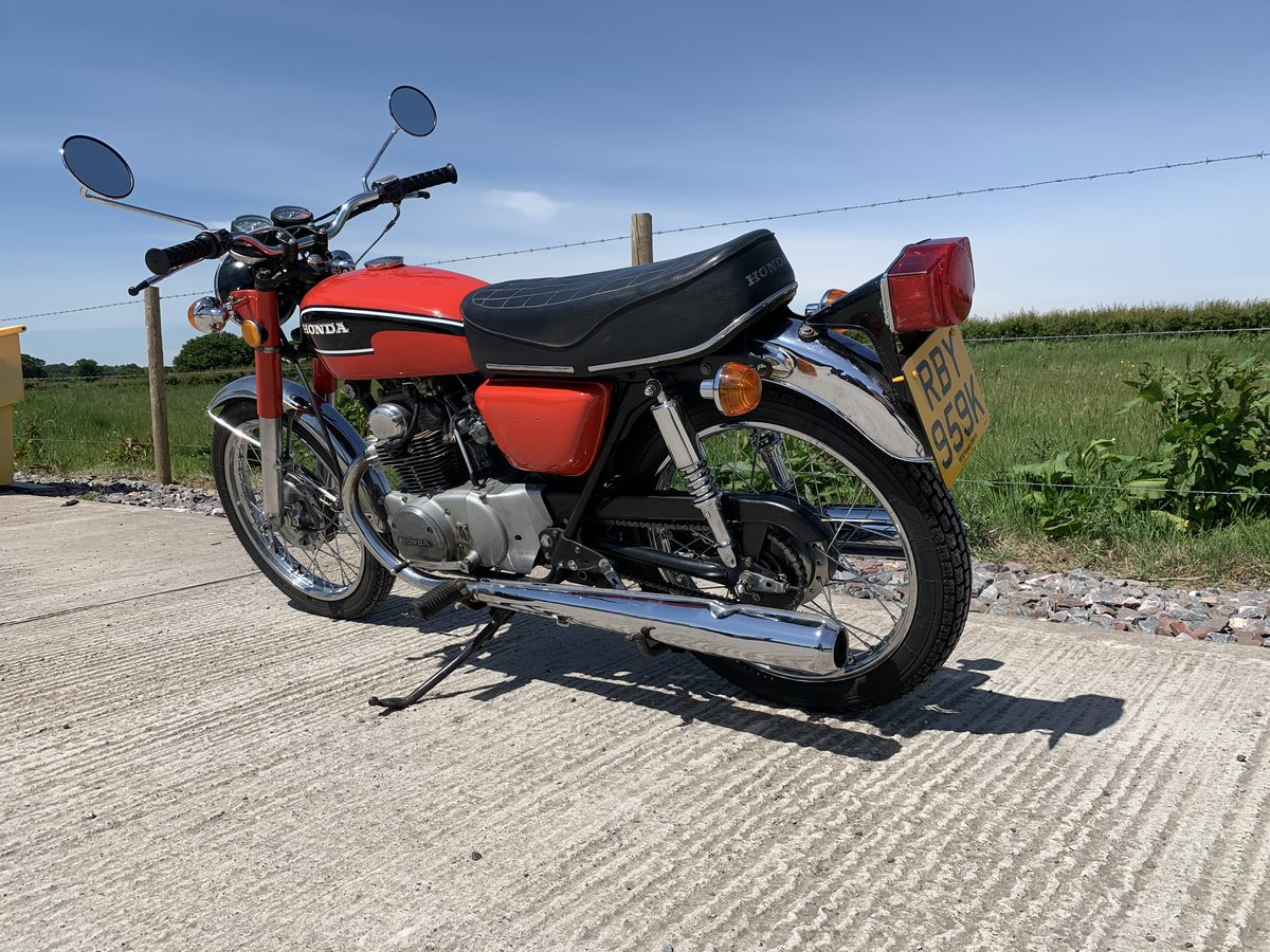 Honda CB175 1972 For Sale (picture 4 of 5)