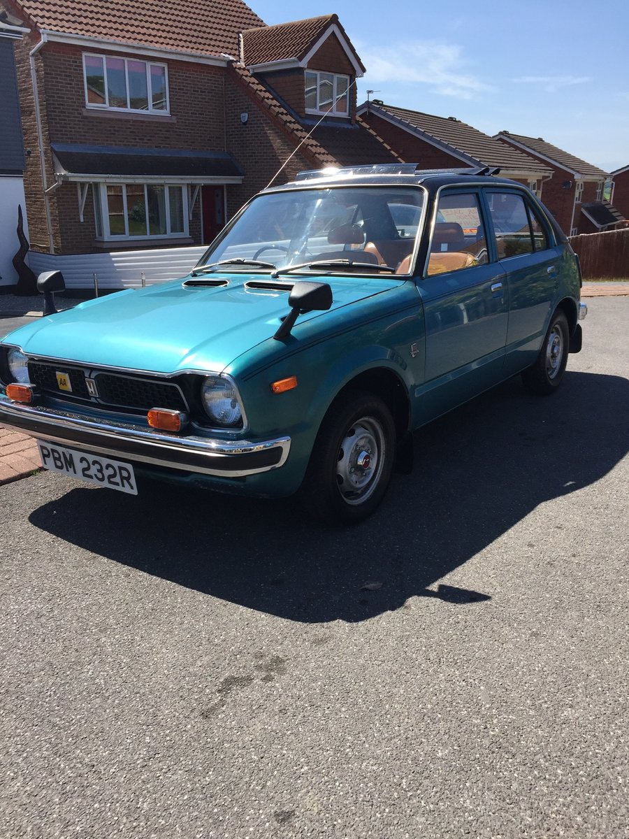 1976 Honda Civic mk1 For Sale (picture 1 of 6)