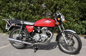 1976  Honda CB400 Four. In nice original condition