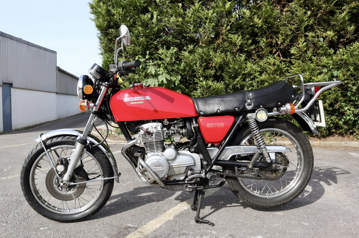 1976 Honda CB400 Four. In nice original condition For Sale (picture 2 of 6)