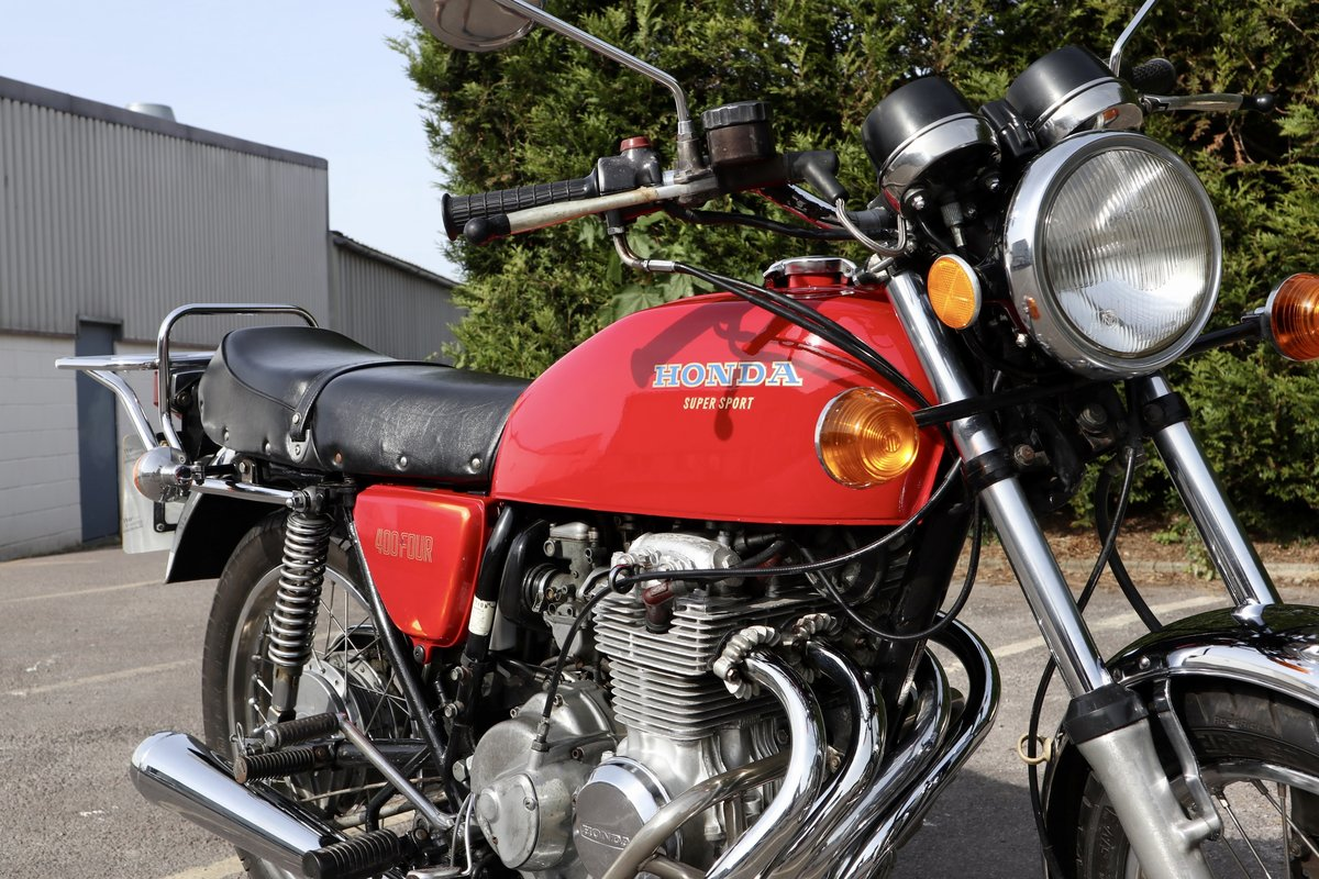 1976 Honda CB400 Four. In nice original condition For Sale (picture 3 of 6)