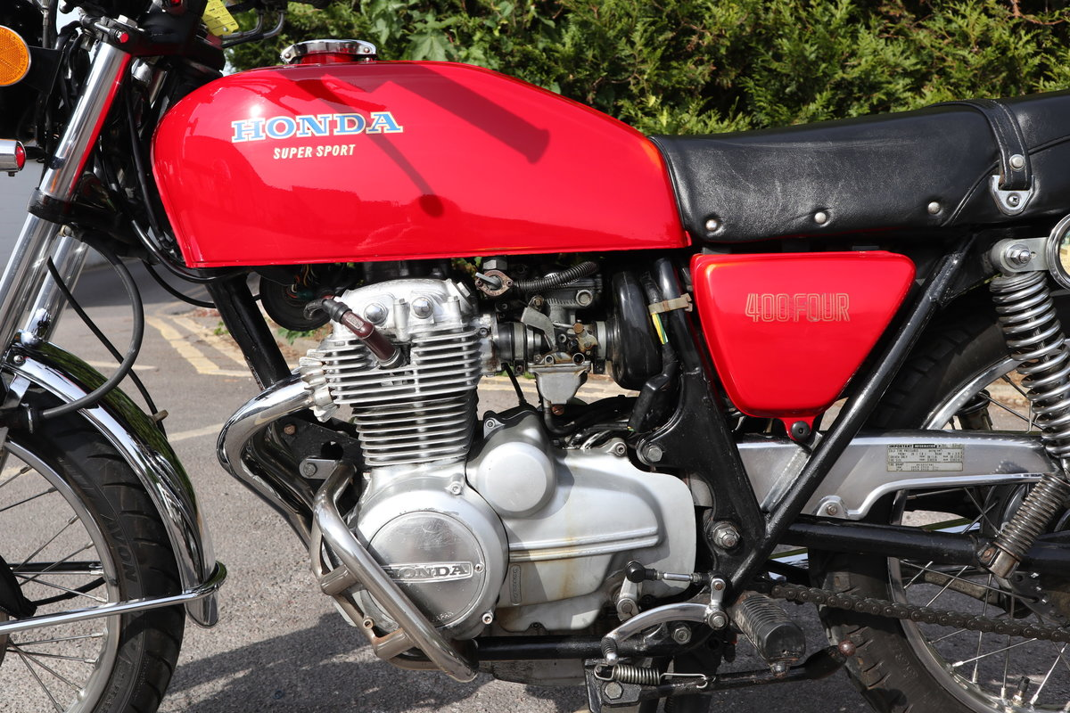 1976 Honda CB400 Four. In nice original condition For Sale (picture 4 of 6)