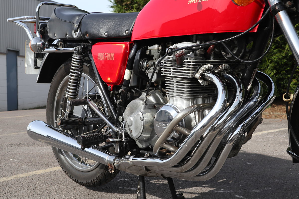1976 Honda CB400 Four. In nice original condition For Sale (picture 5 of 6)