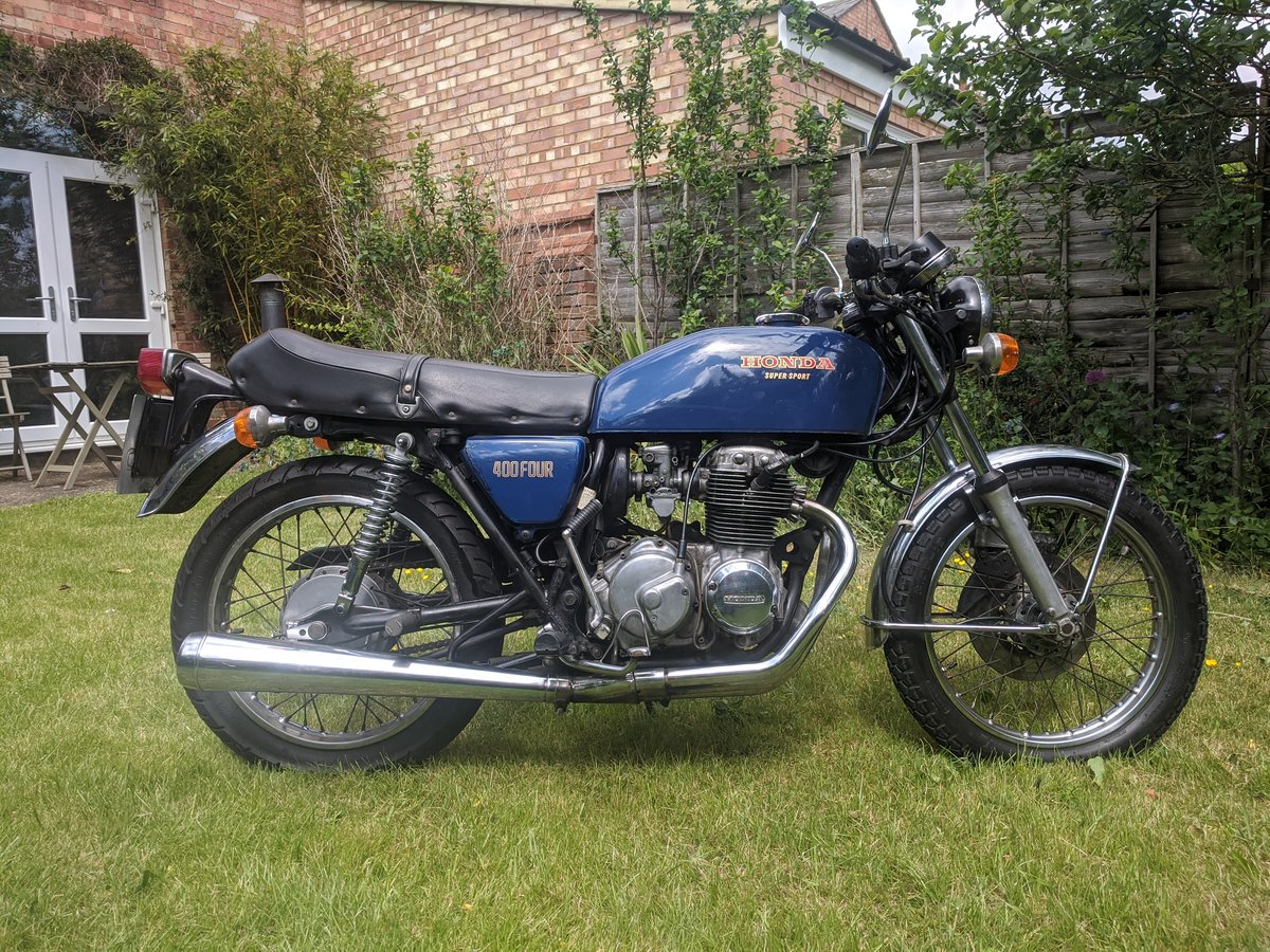 1975 Honda 400 FOUR Supersport For Sale (picture 1 of 6)
