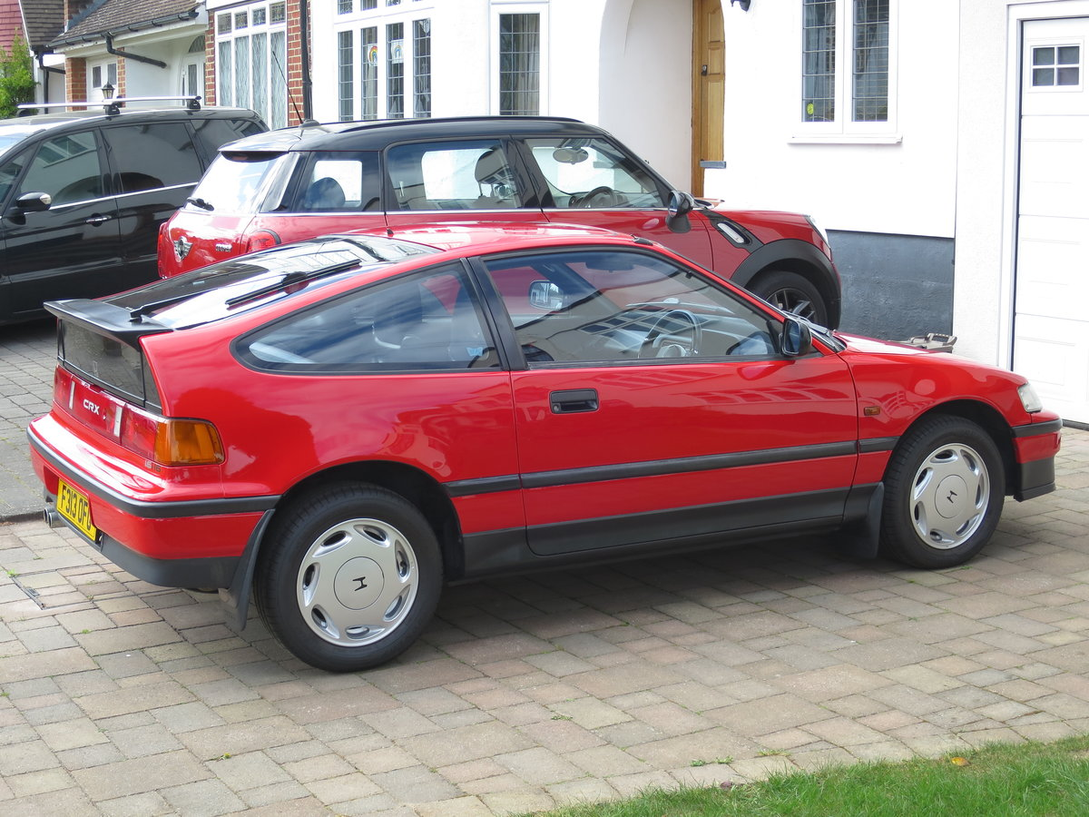 1989 Honda CRX 1.6i 16v Rio Red SOLD (picture 3 of 6)