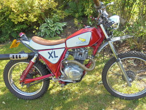 Honda xl185  great runner