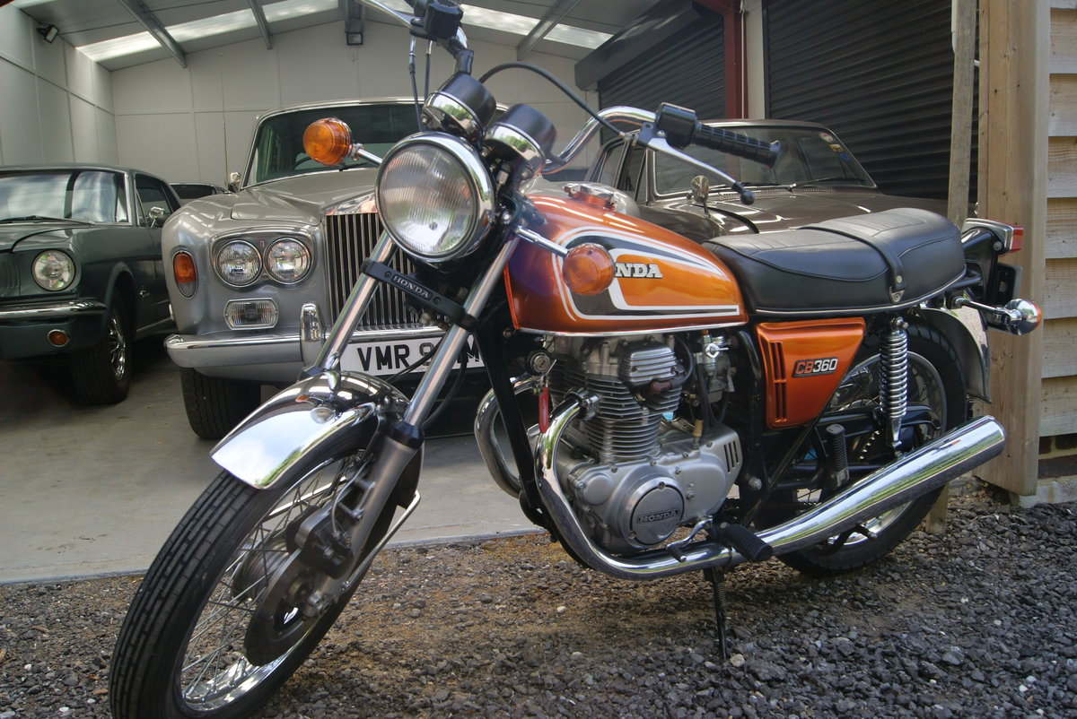 Fantastic condition 1974 Honda CB360 SOLD (picture 1 of 6)