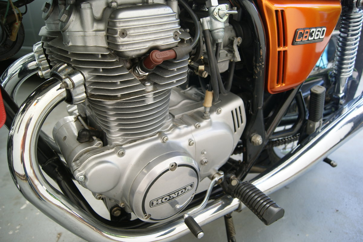 Fantastic condition 1974 Honda CB360 SOLD (picture 4 of 6)