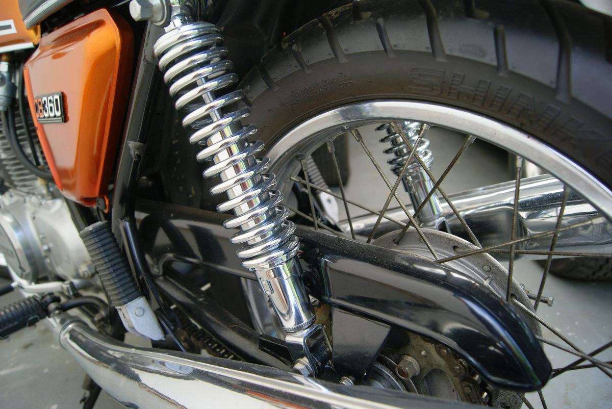 Fantastic condition 1974 Honda CB360 SOLD (picture 5 of 6)