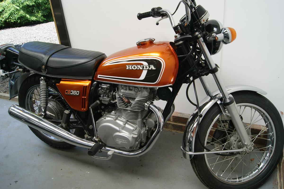 Fantastic condition 1974 Honda CB360 SOLD (picture 6 of 6)