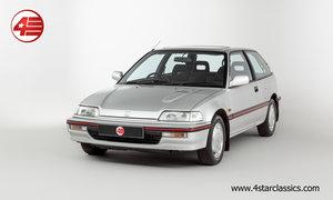 1991 Honda Civic 1.6i-16 /// 1 Owner /// 17k Miles! For Sale