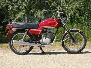 1987 Honda CG125 BR