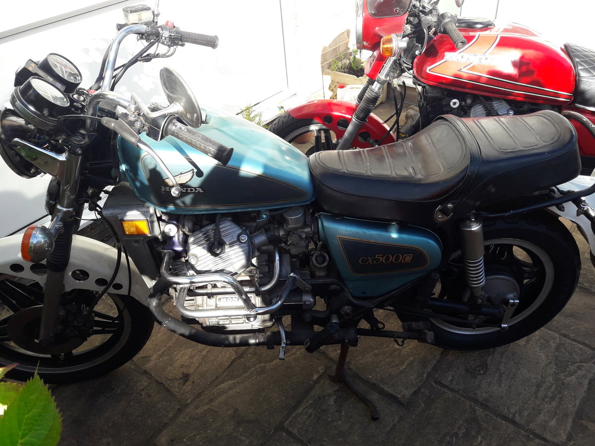1982 2 x honda cx500 custom and spairs For Sale (picture 4 of 6)