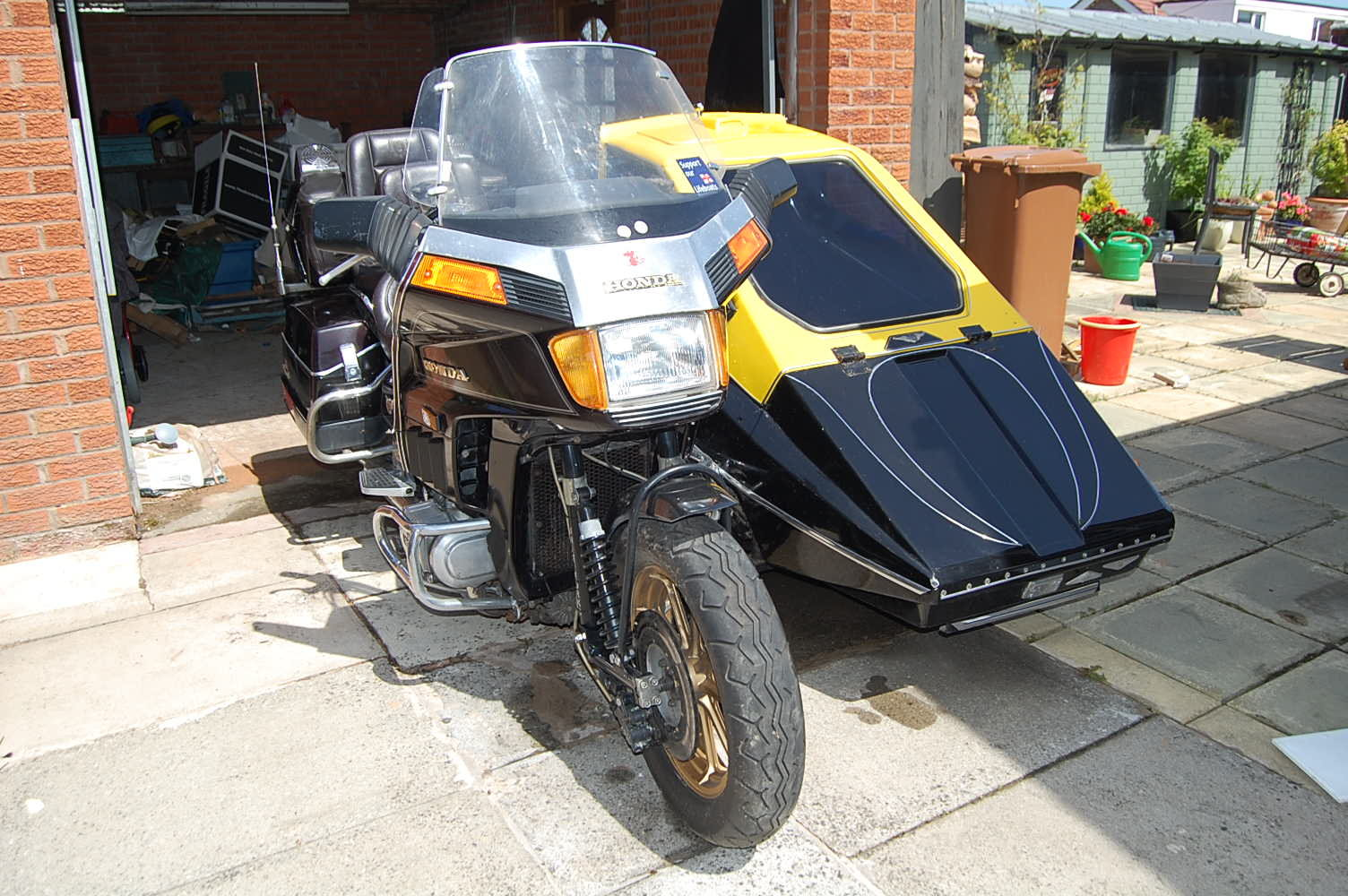1996 HONDA 1200cc GOLD WING ASPENCADE OUTFIT For Sale (picture 1 of 6)