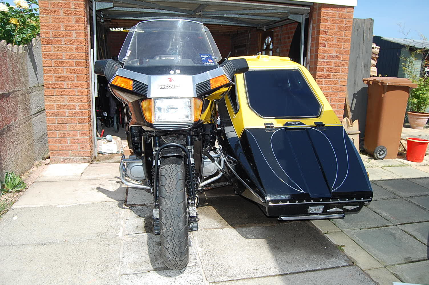 1996 HONDA 1200cc GOLD WING ASPENCADE OUTFIT For Sale (picture 2 of 6)