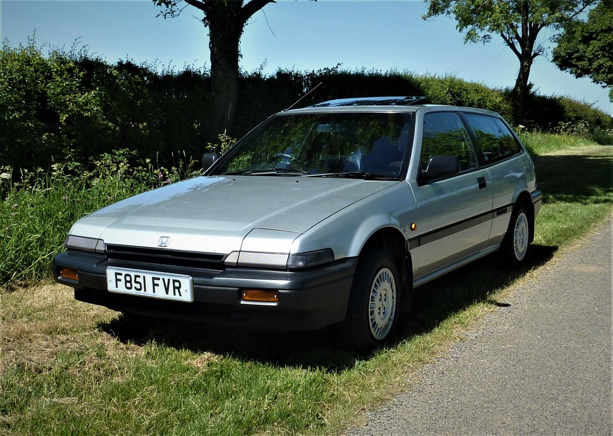 1988 Honda Accord Aerodeck EX Auto Low miles SOLD (picture 1 of 6)