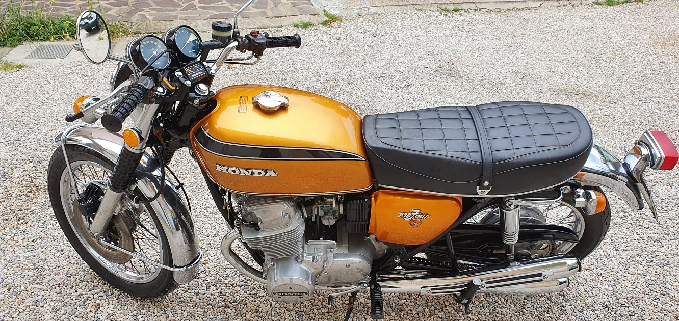 1973 MOTO HONDA CB 750 FOUR SOLD (picture 1 of 6)