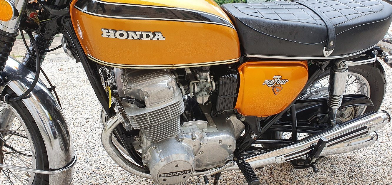 1973 MOTO HONDA CB 750 FOUR SOLD (picture 2 of 6)