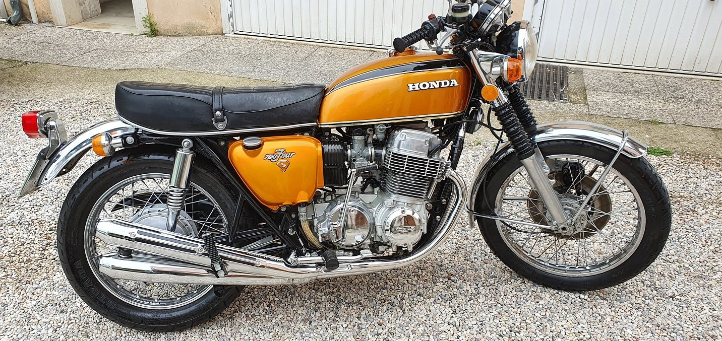 1973 MOTO HONDA CB 750 FOUR SOLD (picture 4 of 6)