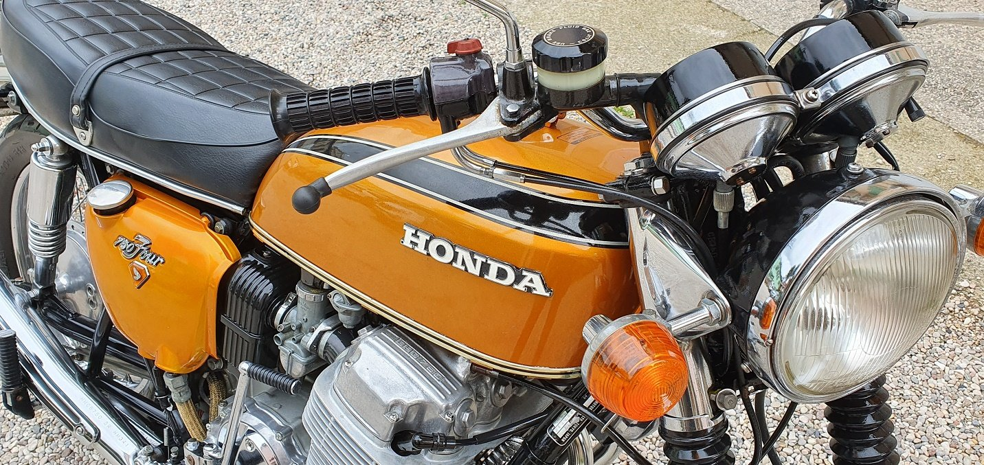 1973 MOTO HONDA CB 750 FOUR SOLD (picture 5 of 6)