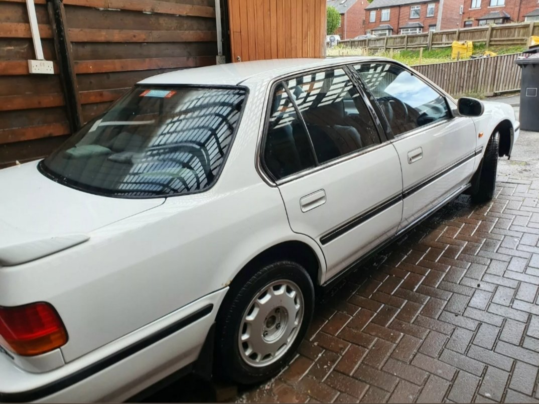 1993 Honda Accord 2.2i 4ws KSpec Super Rare White Manua For Sale (picture 5 of 6)