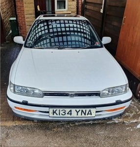 1993 Honda Accord 2.2i 4ws KSpec Super Rare White Manua