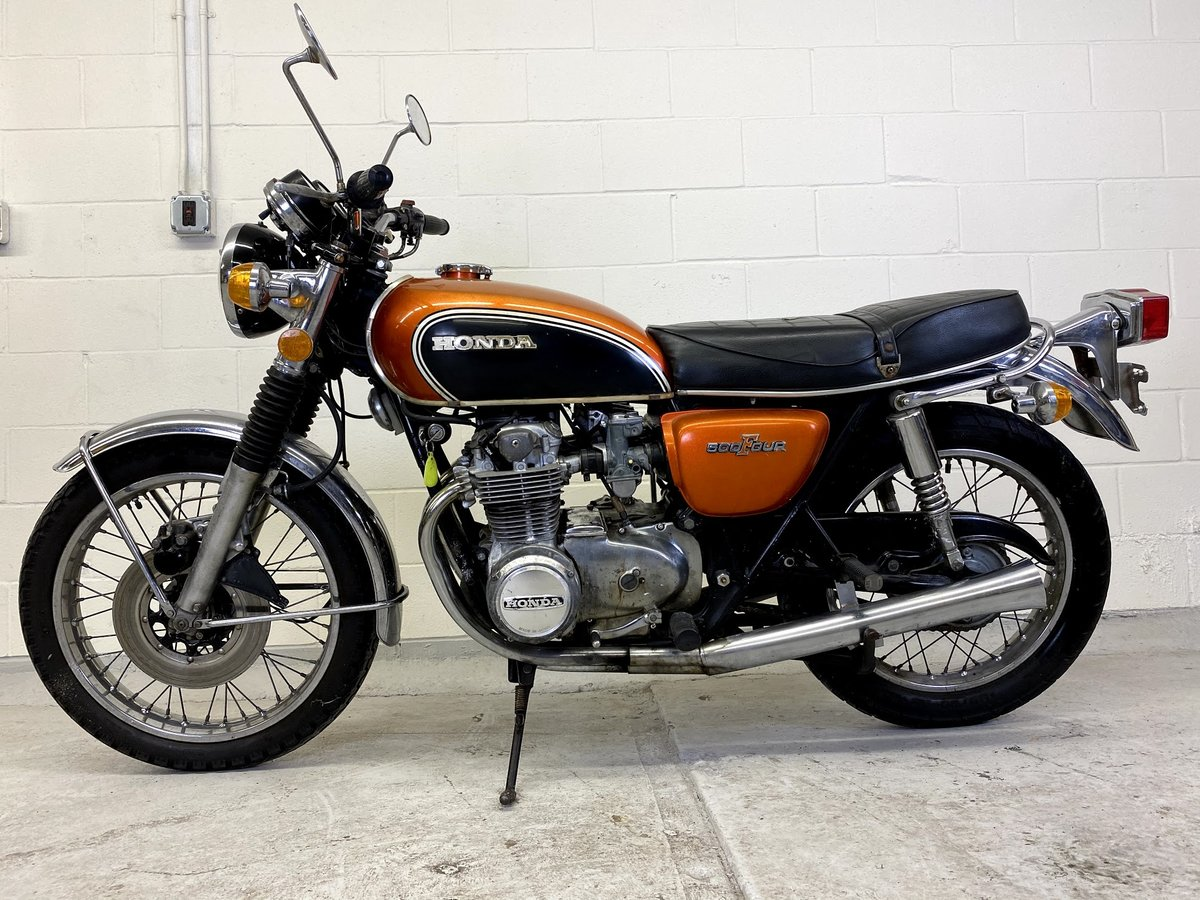 1972 Honda CB500 Four For Sale (picture 1 of 6)