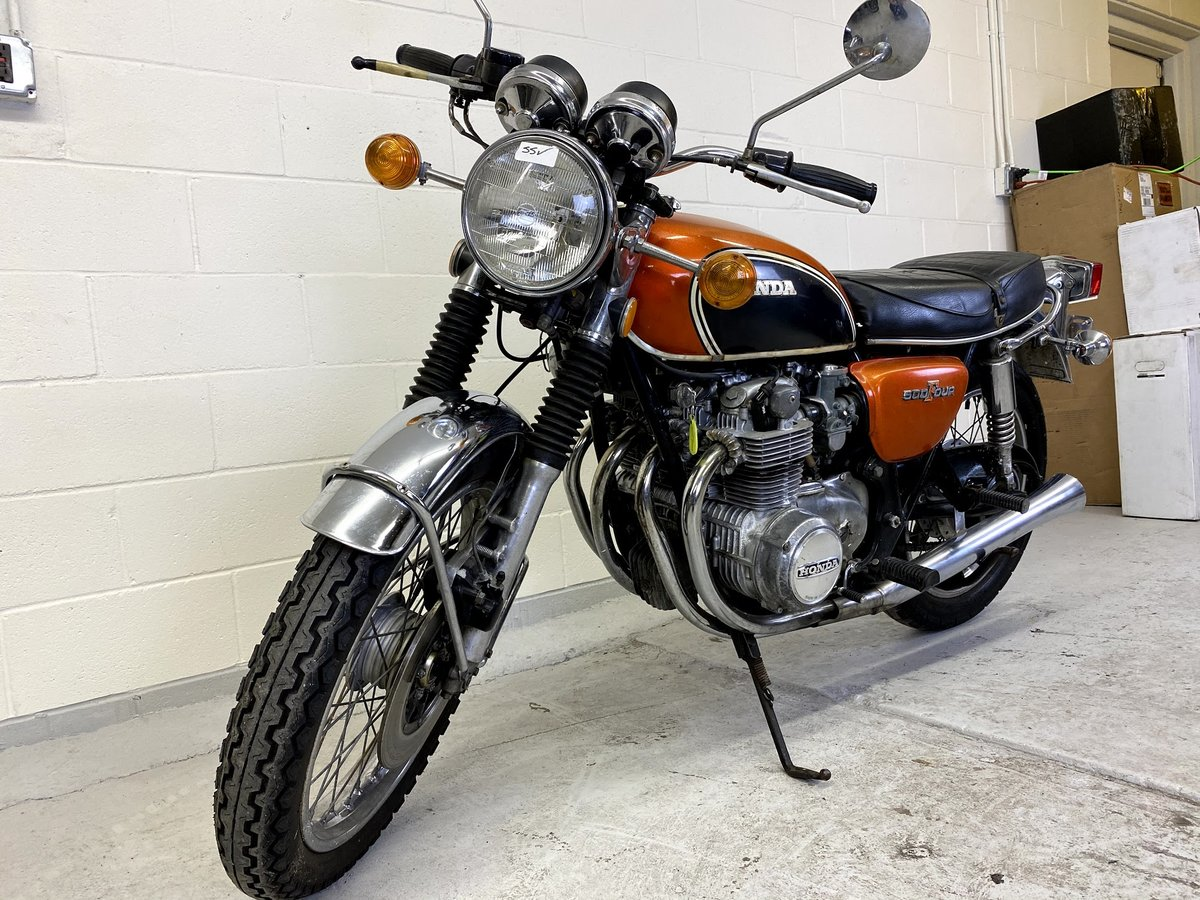 1972 Honda CB500 Four For Sale (picture 2 of 6)