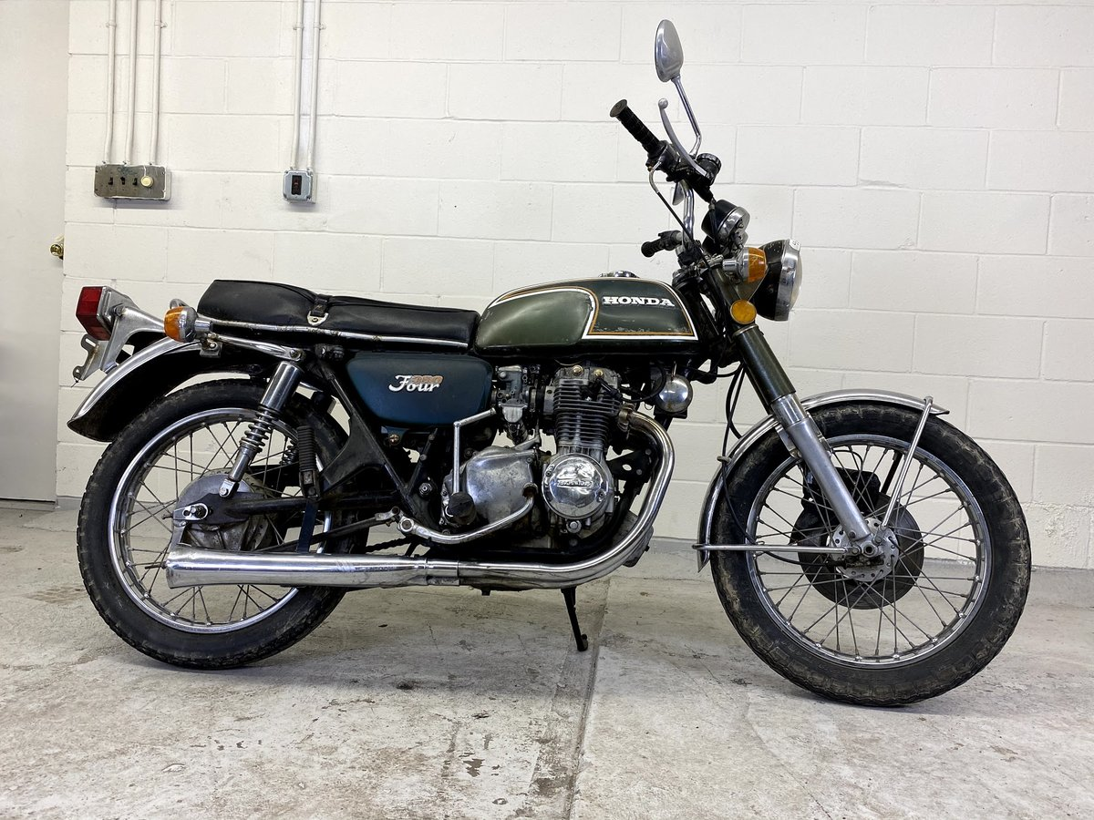 1972 Honda CB350 Four For Sale (picture 4 of 6)