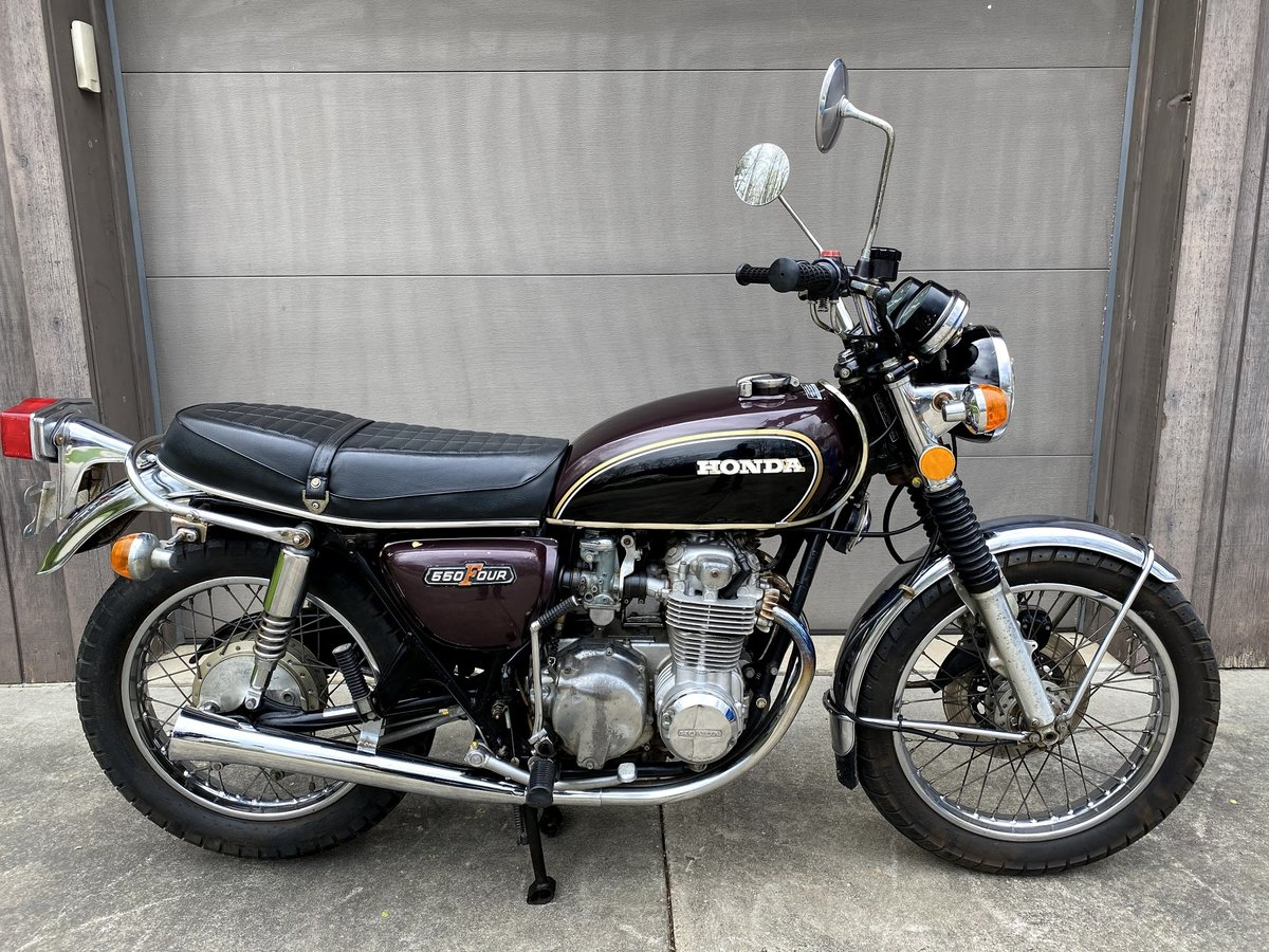 1974 Honda CB550 SOLD (picture 1 of 6)
