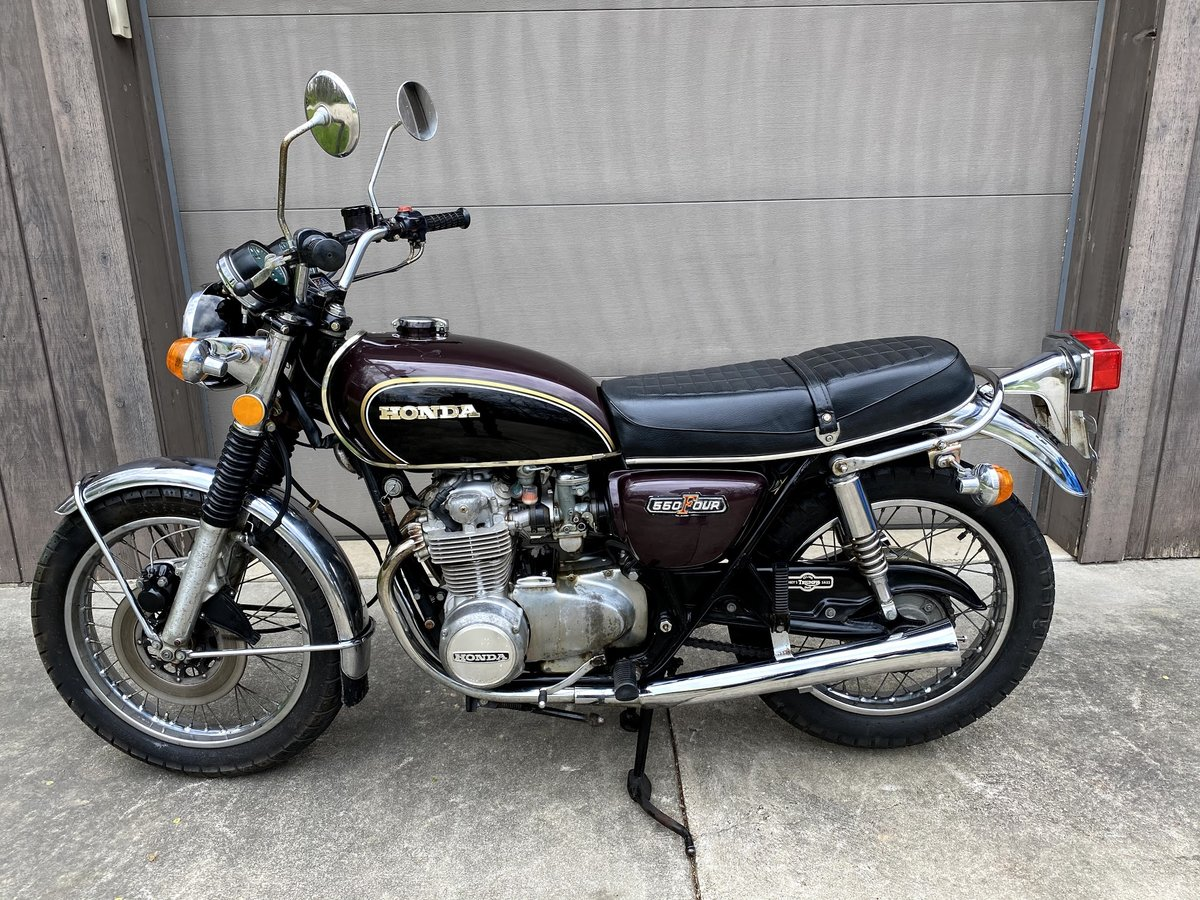 1974 Honda CB550 SOLD (picture 2 of 6)