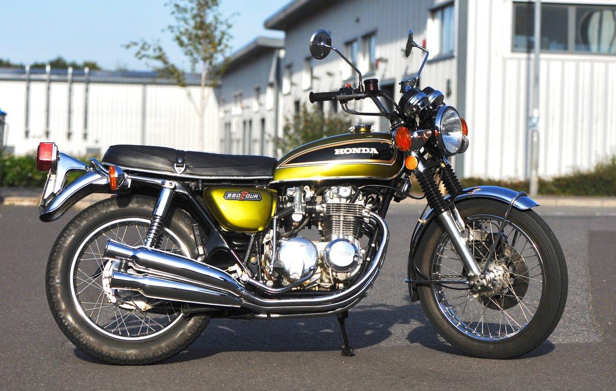1975 Honda CB550 K1, 1800 genuine miles SOLD (picture 1 of 6)