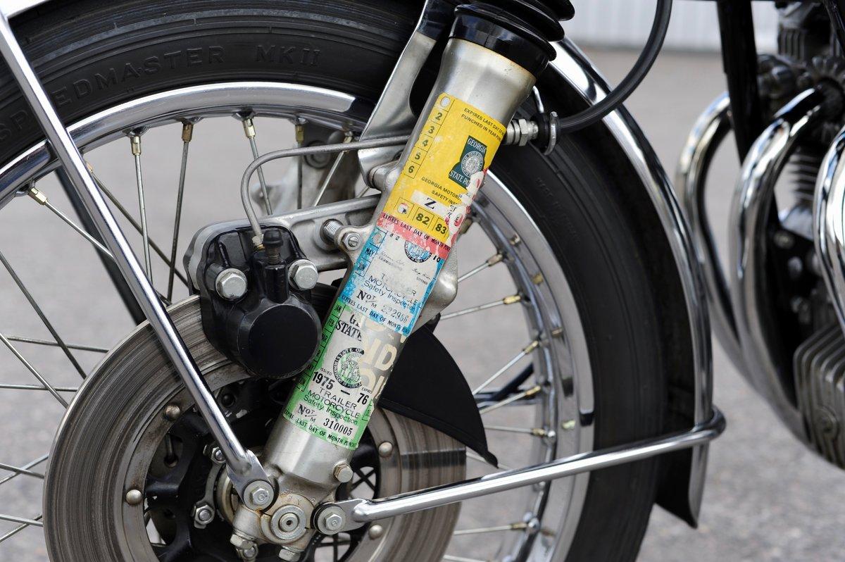 1975 Honda CB550 K1, 1800 genuine miles SOLD (picture 4 of 6)