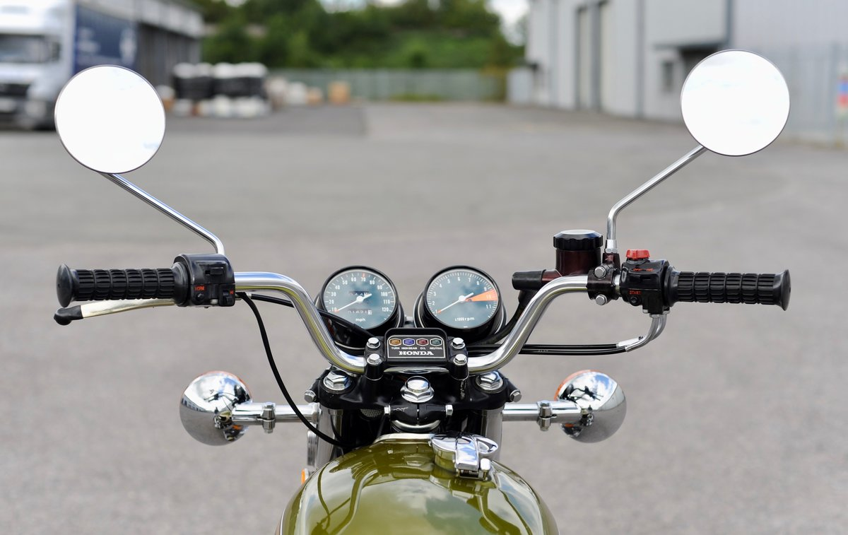 1975 Honda CB550 K1, 1800 genuine miles SOLD (picture 5 of 6)