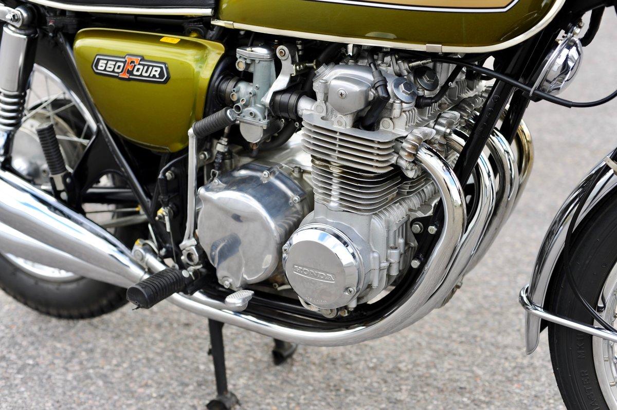 1975 Honda CB550 K1, 1800 genuine miles SOLD (picture 6 of 6)
